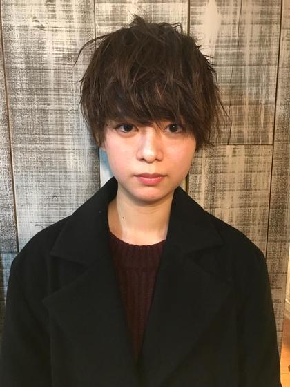 boyish  short. LUAU所属・亀井崇之のスタイル