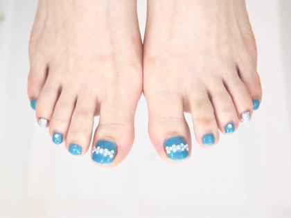 【新規オフありジェルネイル】素足を可愛く♪限定10色から選ぶペディキュア。秋色カラー入荷♪シールやストーン選択自由