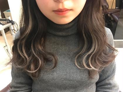 インナーカラー6本→ ¥3300(1本¥550)