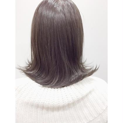 カラー ショート ✨3DハイライトMIXブリーチなしで外国人風カラー✨  髪の状態が良ければブリーチなしで全然綺麗に仕上げます‼️