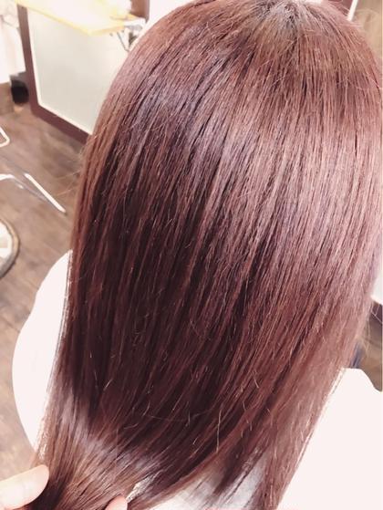 【カラー】トワイライトピーチ ARTESIA by anyhow所属・岡野巧のスタイル