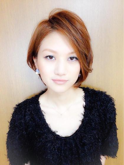 【アディクシーカラー】+眉カラー
