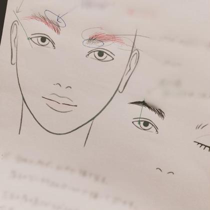 眉デザイン! メイクの中でも最も難しく、悩みが多い眉毛!  理想の眉に整え、書き方のアドバイスします!!
