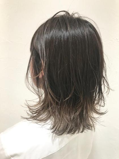 ❣️5月限定❣️✨カット&ちょっとお洒落な裾カラー&髪質改善トリートメント✨