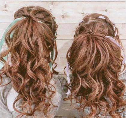 編み込みポニー♡   イベントにペアstyle学校cute💕 beautysalonITOのヘアアレンジ