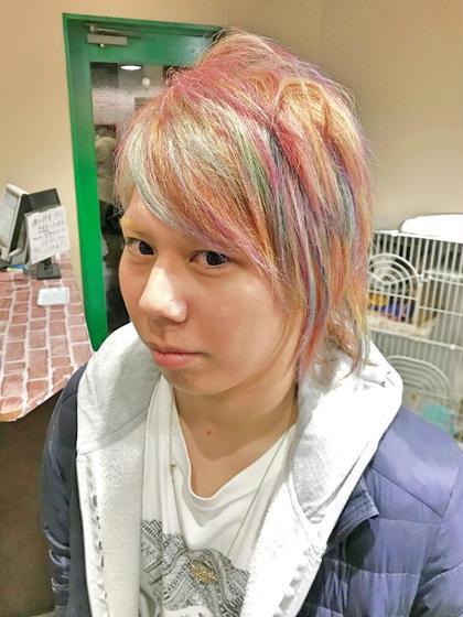 【Hizuki】ユニコーンカラーコース(カット、トリートメント込み)