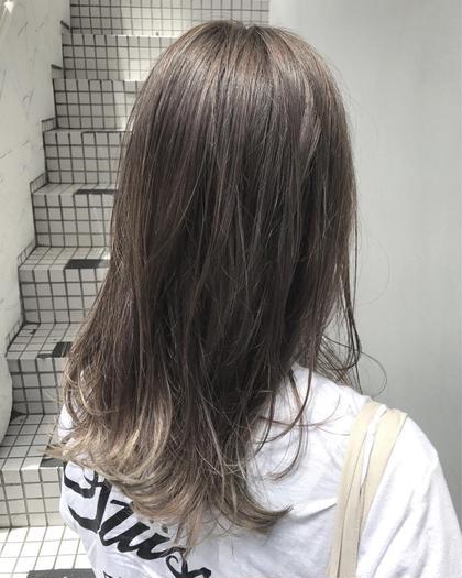 矢野優太のセミロングのヘアスタイル