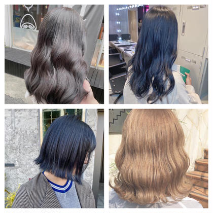 『ミニモ特別価格』🤍🐬外国人風カラー+毛髪補修トリートメント🐬🤍