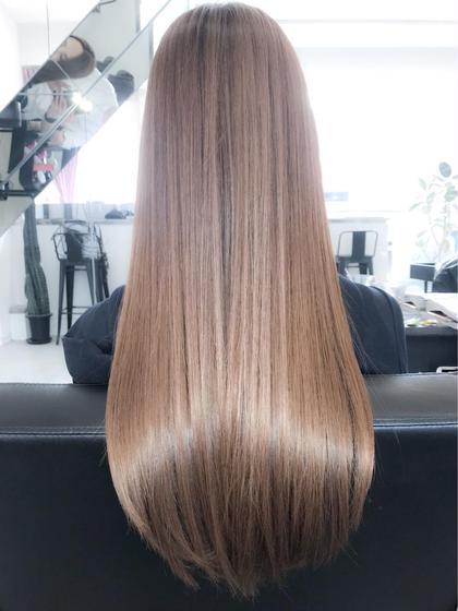 アミノ酸縮毛矯正なら、傷んだ髪もダメージ少なく柔らかな質感ストレートになります!