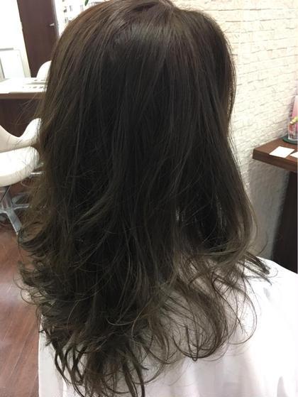 グレーアッシュ カラー♪ PRIMAL(プライマル) 稲毛店所属・大澤美樹💇♀️店長のスタイル
