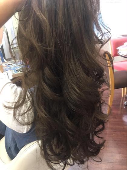 マットアッシュ カラー♪ PRIMAL(プライマル) 稲毛店所属・大澤美樹💇♀️店長のスタイル