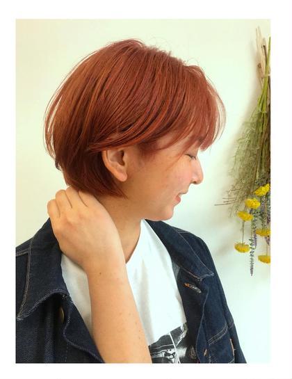 個性的 🇺🇸   red orange 🍊 MusebyKENJE所属・砂川七海のスタイル