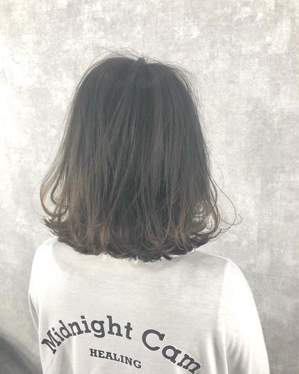 高嶋みほのミディアムのヘアスタイル