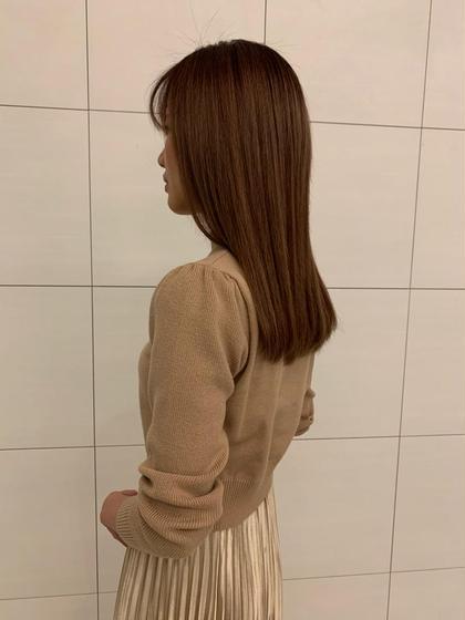 【梅雨対策☔️】ポイント縮毛矯正+カット+oggi ottoトリートメント🙌🏻❤︎