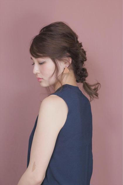 セミロング ヘアアレンジ -  hair arrange   ---ーーーーーーーー             price   5000 yen + tax  -ーーーーーーーーーーーーーーーーーーー