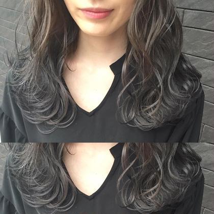 カラー セミロング gray〜gradation✨