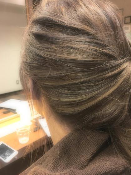 平日限定【✨#アオハル✨】結んだ時に可愛い♪♪ジュエリーハイライト+透け感N.(エヌドット)カラー