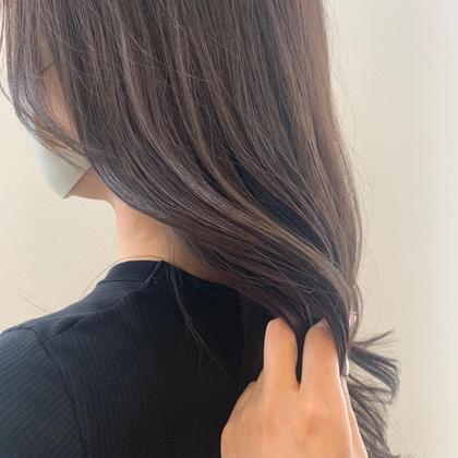 💐[髪質改善✨]超音波3stepトリートメント+韓国小顔カット+イルミナカラー