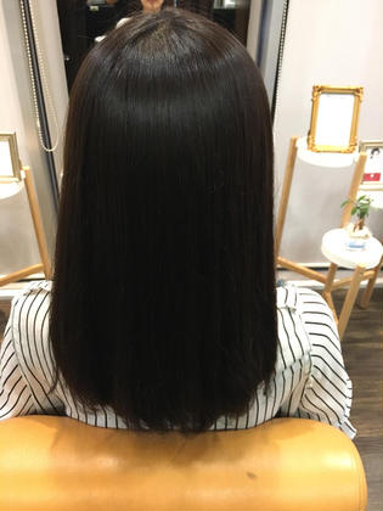 髪質改善☆縮毛矯正ストレート