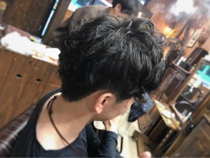 メンズパーマ Liss所属・中谷加奈のスタイル