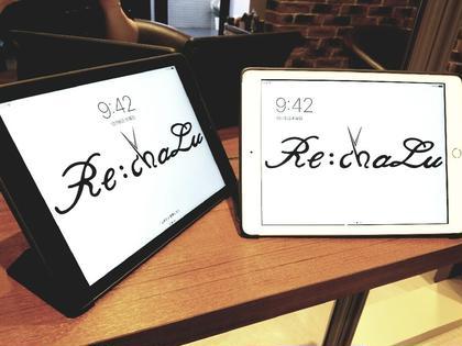雑誌や動画がiPadで見放題です☆ Re:chaLu所属・本多博文のスタイル