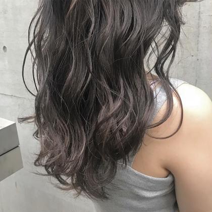 江口なつみのロングのヘアスタイル