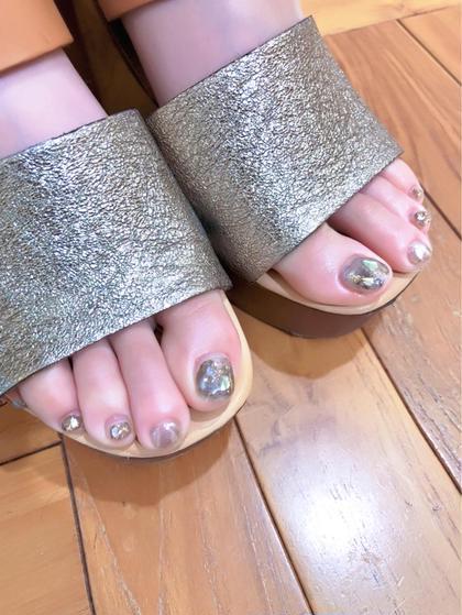 【2回目ご来店の方オススメ👣💓】オフあり/90分アートデザイン放題◎foot nail