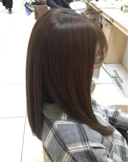 人気NO.2✨カラー+髪の応急処置☆ダブルコーティング✨