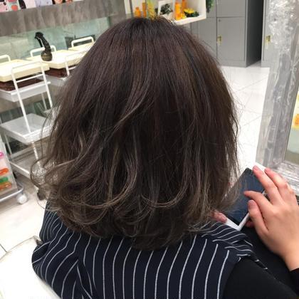 カット & ワンリメイクカラー & 髪質改善トリートメント