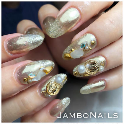 JamboNails所属のJUNJamboNailsのネイルデザイン