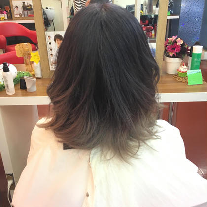 ダブルカラー グラデーション shampoo綱島所属・中島清和のスタイル