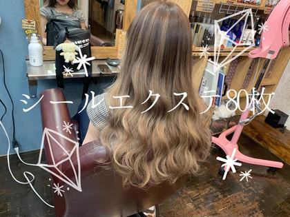 🌟最高級品質ヴァージンレミー毛✨シールエクステ1枚¥300(税込)80枚
