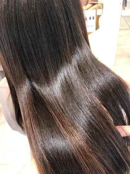 🔥酸熱髪質改善トリートメント+超音波アイロン🔥