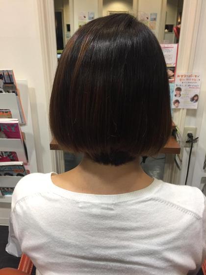 重めグラデーションボブ 美容室BCBG朝霞店所属・寺島有紗のスタイル