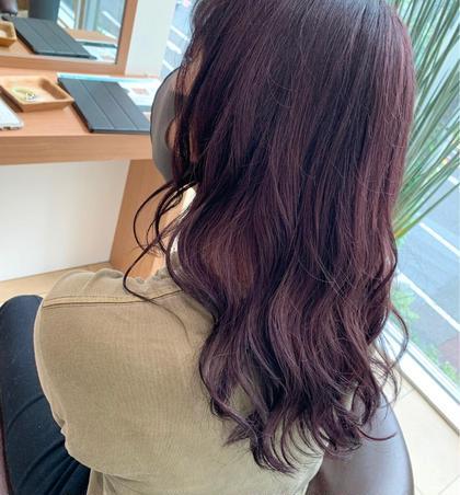 【ご新規様限定】ワンカラー+3stepトリートメント😍髪に優しい薬剤とトリートメントでうるつや美髪に👀💖
