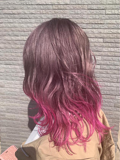 pink gradation🌸 (MASHU)wiz hair東原店所属・ホンダダイキのスタイル