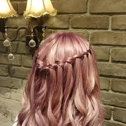 【✨可愛く変身✨】巻き髪+簡単ヘアアレンジ