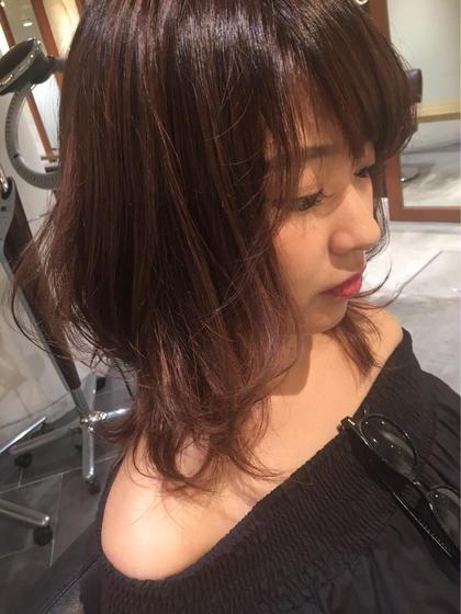 前髪カット❣️ コテ巻きorアイロンスタイリング❣️ 前髪パーマ・前髪縮毛が大人気🤩