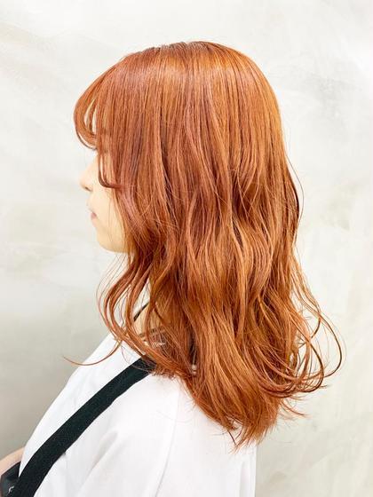 オレンジブラウン🍊 #オレンジ#カラー