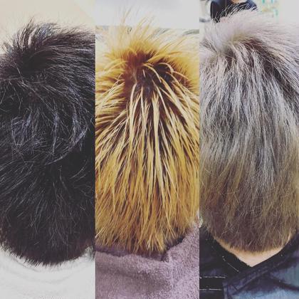 ブリーチオンカラー Ash仙川店所属・メンズスタイリスト栫健太のスタイル