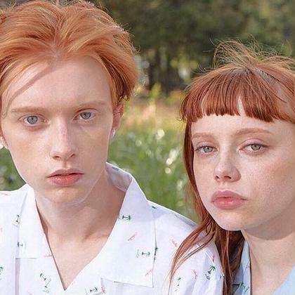 orange hairは男女ともに可愛いです👩🏻🦰🌼