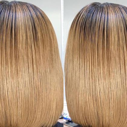 【ハイダメージ必見】ブリーチでもできる髪質改善縮毛矯正×極上トリートメント×プレミアムカラー
