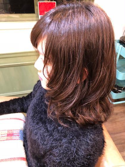 カウンセリングして髪質やイメージに合わせてかけさせていただきます! Belle  omotesando所属・松元浩樹のスタイル