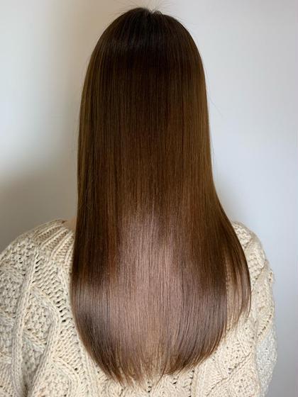 【3人までの新規限定メニュー】髪質が変わる!?髪質改善トリートメントカラー