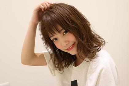 【初回】カット+カラー(髪質改善トリートメント付き)