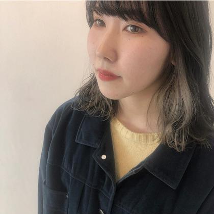 ❤︎ついに初登場💘 Pointブリーチ + Pointカラー +艶感ケアトリートメント💜