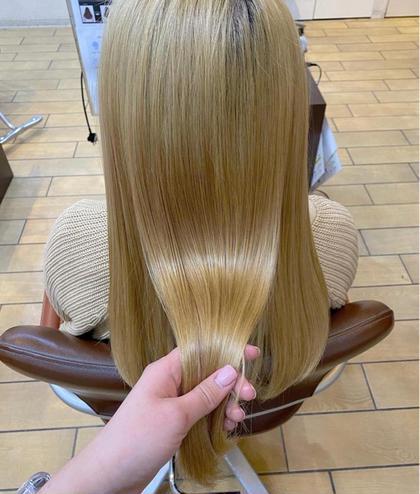 超音波✨髪質改善トリートメント⦅ブリーチ毛にもオススメ⦆🌼