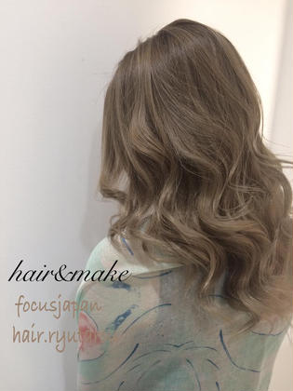 これはめっちゃ綺麗です  僕に担当させてください hair&makeNOISMekahi所属・野口隆太郎のスタイル
