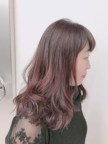 【新規✨人気NO.1✨メニュー】カット+透明感カラー