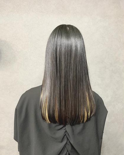 《髪質改善トリートメントサイエンスアクア》+カット